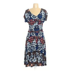Super soft printed multi-color dress by Meadow Rue